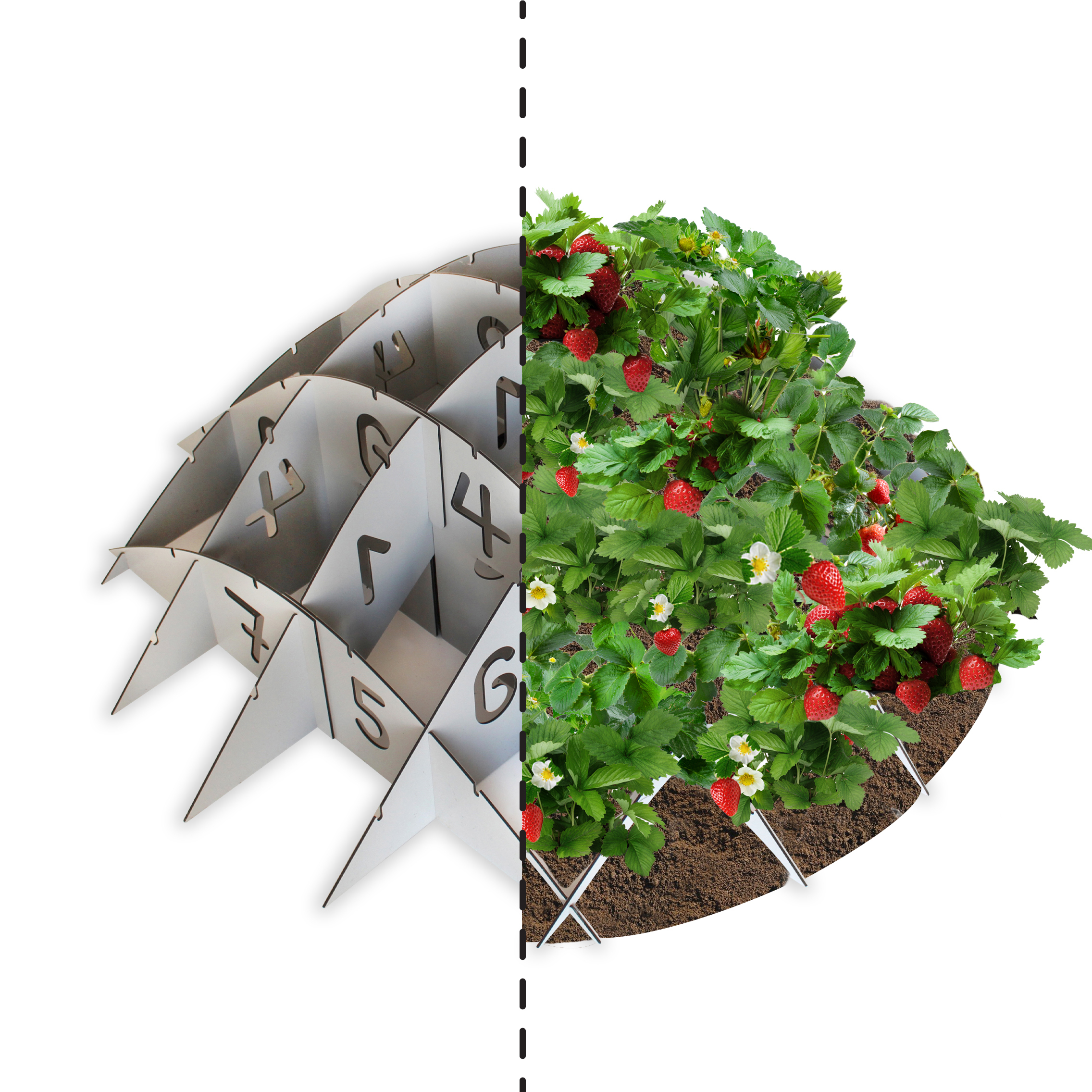 Round Mound Garden Planter