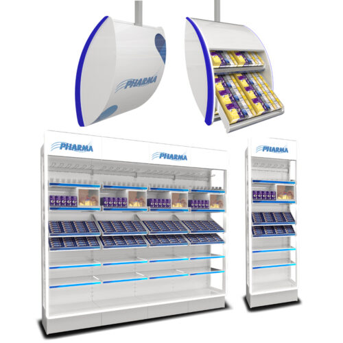 Pharmacy Display Stands