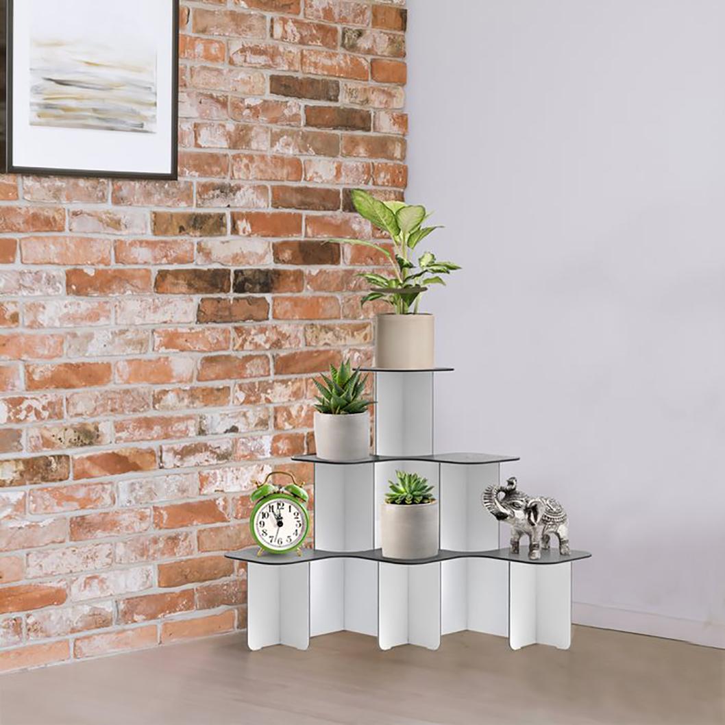 corner plant stand large