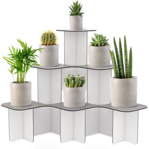 corner stand shelves unit