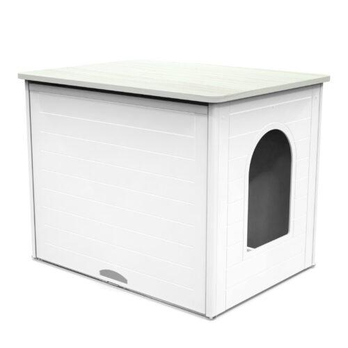 double cat litter box furniture